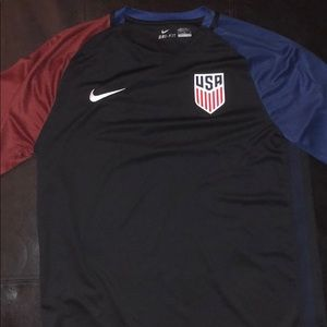 Nike Shirts - Nike USA Dri-Fit V-Neck Shirt  👕